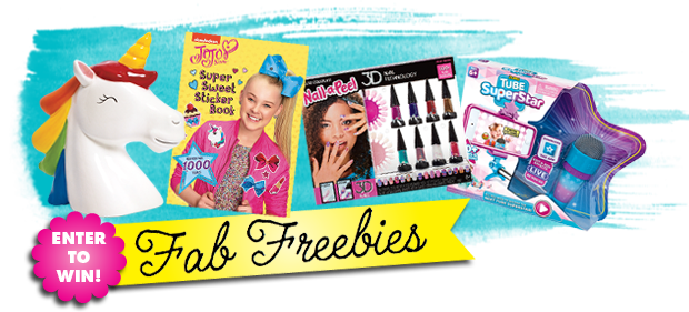 Enter to win fab freebies